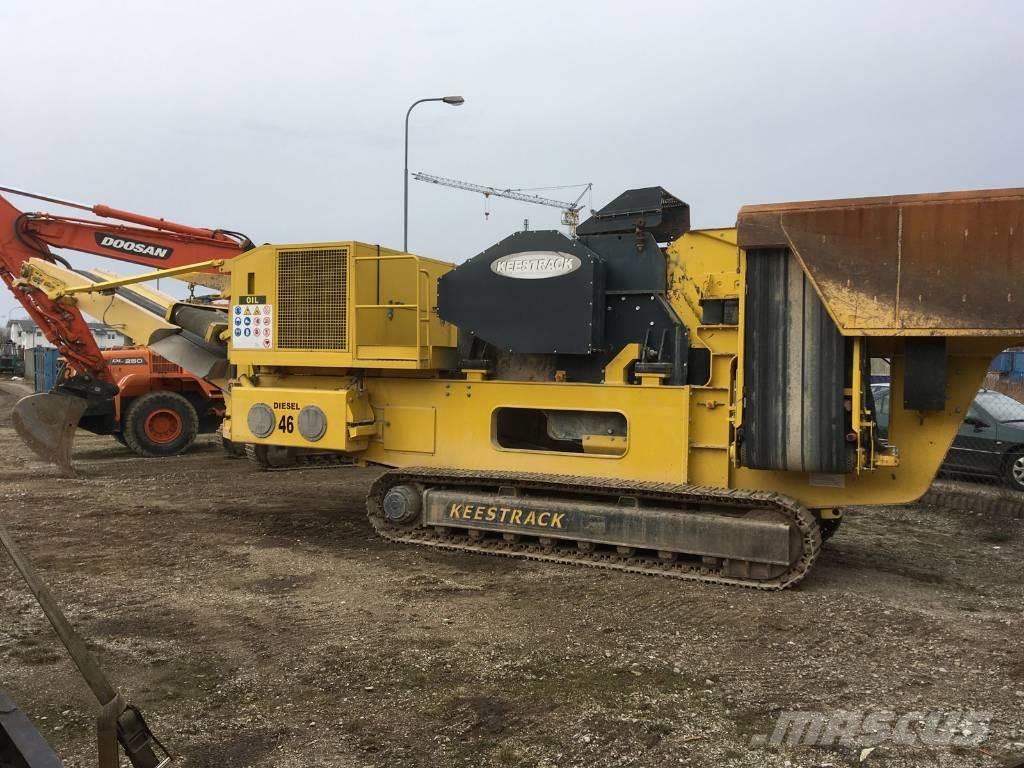 Used Keestrack Apollo Mobile Crushers Year 2013 For Sale
