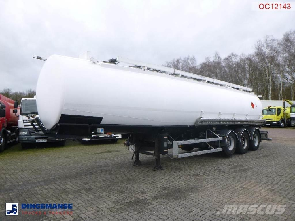 Trailor Fuel tank alu 39.9 m3 / 9 comp