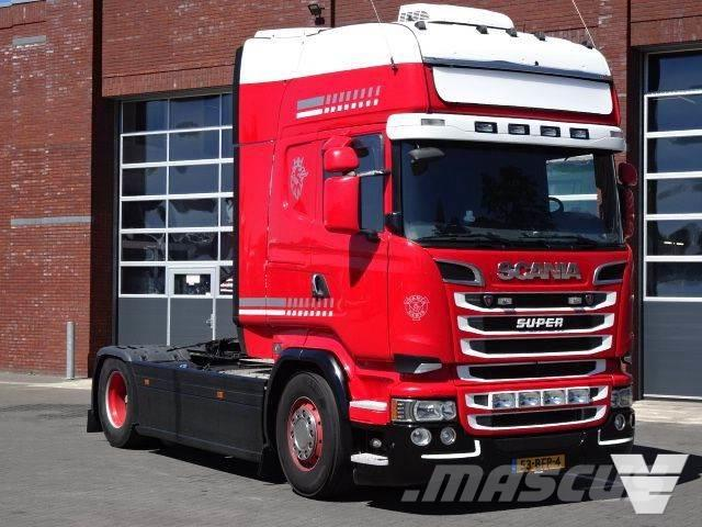 Scania R520 Topline King of the Road - Manual gearbox - R