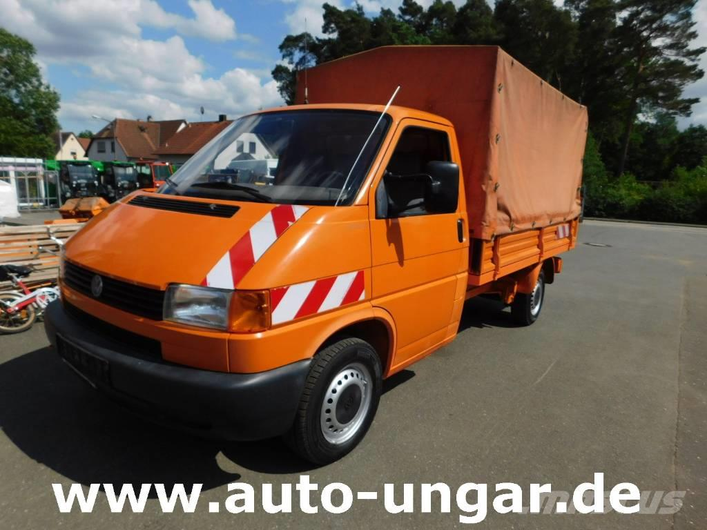 used volkswagen vw t4 syncro allrad 4x4 pritsche plane. Black Bedroom Furniture Sets. Home Design Ideas