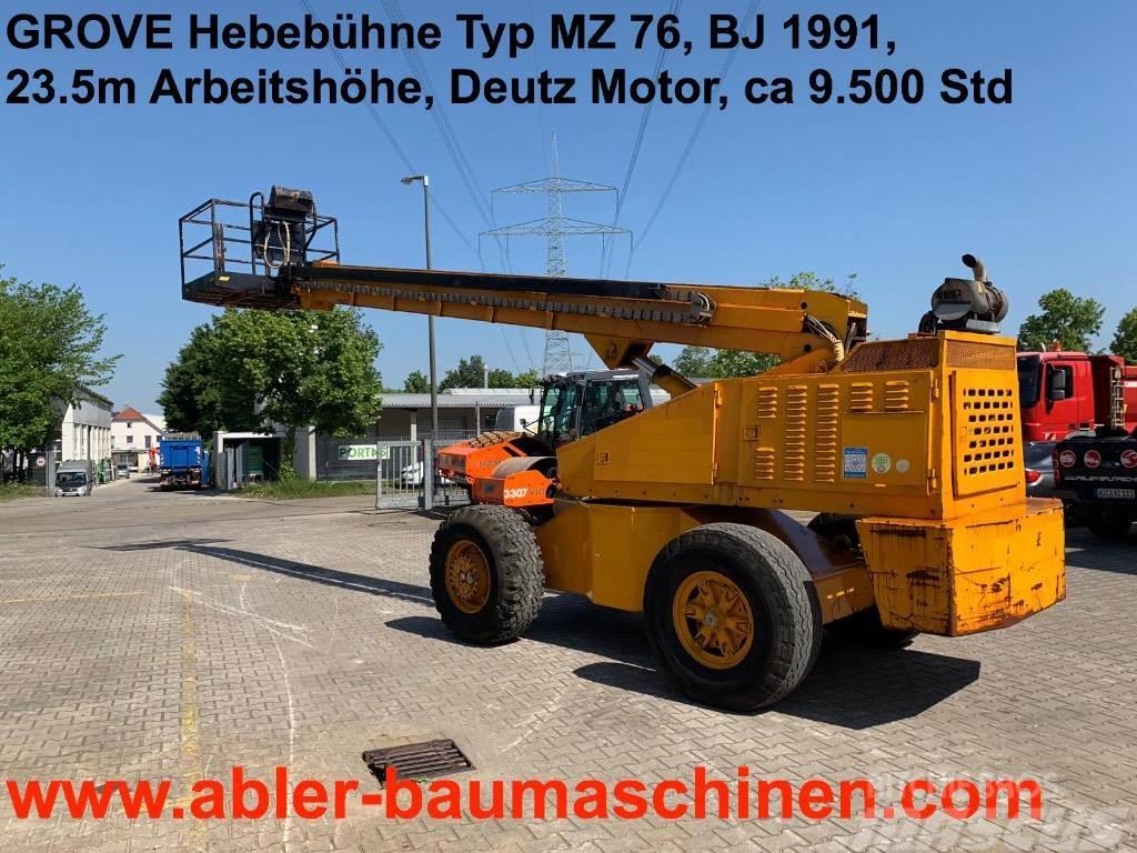 Grove Hebebühne MZ 76, 23.5m
