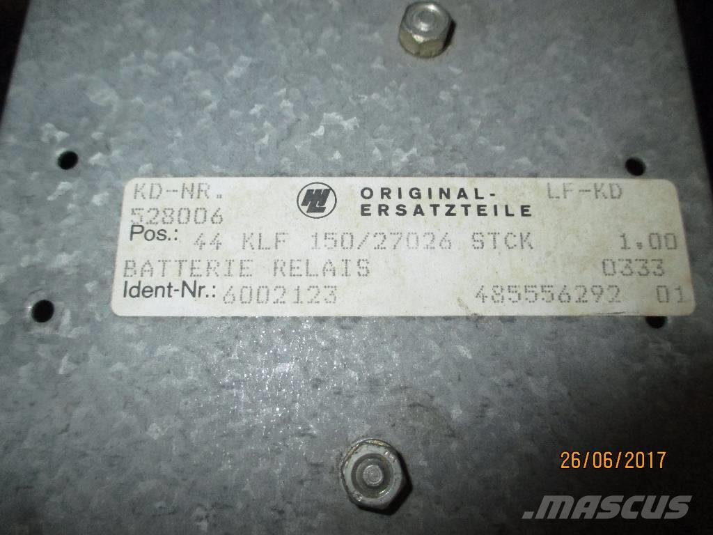 Liebherr 6002123 BATTERY RELAY -NEW ORIGINAL