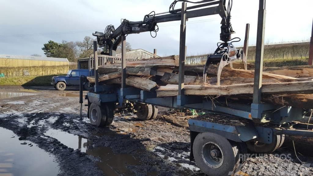 FMV Loader and forestry trailer
