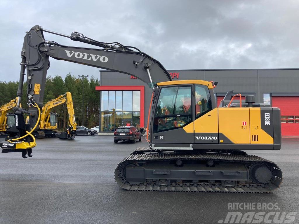 Volvo EC 180 EL / Marttiini M-tilt, Marttiini MR-26, Ym.
