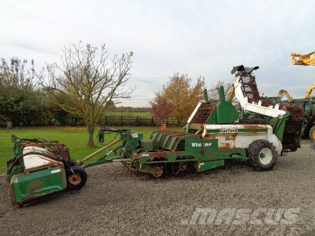 Garford victor 4 row beet harvester