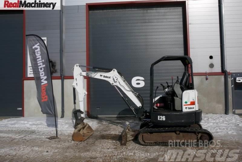 Bobcat E26 Canopy Excavator