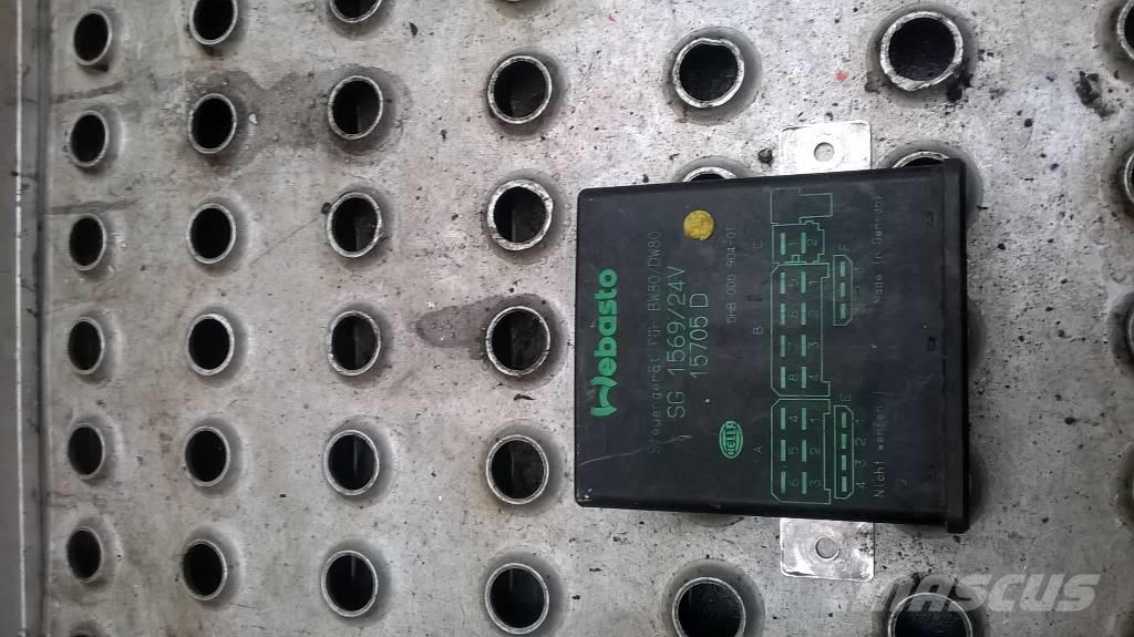 Volvo FH16 Webasto heater block