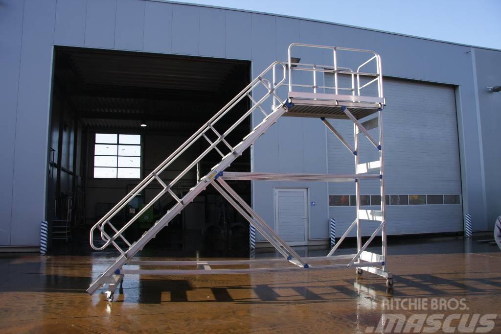 [Other] Zarges Plattformtreppe, fahrbar
