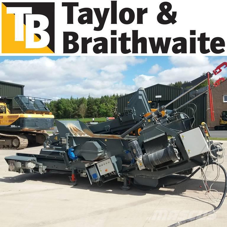 Rubble Master MS95 SCREEN DECK & VARIABLE SPEED CONTROL RE-FEED