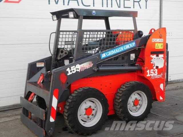 Thomas 153 schranklader bobcat minishovel shovel loader w