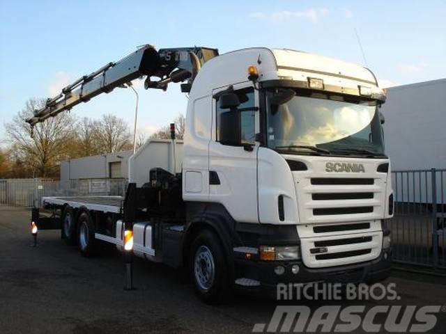 Scania R420 6X2 - OPEN BODY - HIAB CRANE 422 EP-5 HIPRO