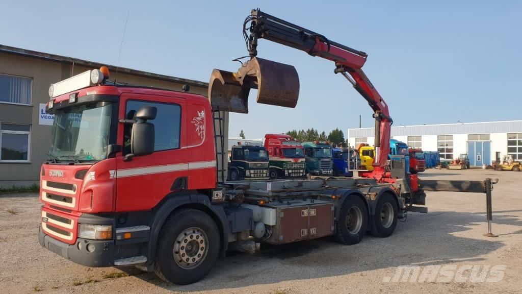 Scania P420 6X2 PK16502