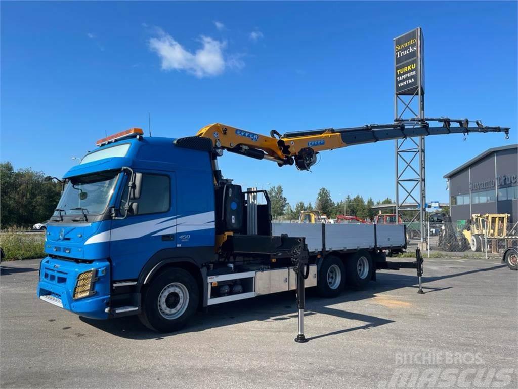 Volvo FM450 6x2-4600 Globe Euro-6