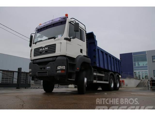 MAN TGA 33.390 BB-6X6-TIPPER+TRACTOR