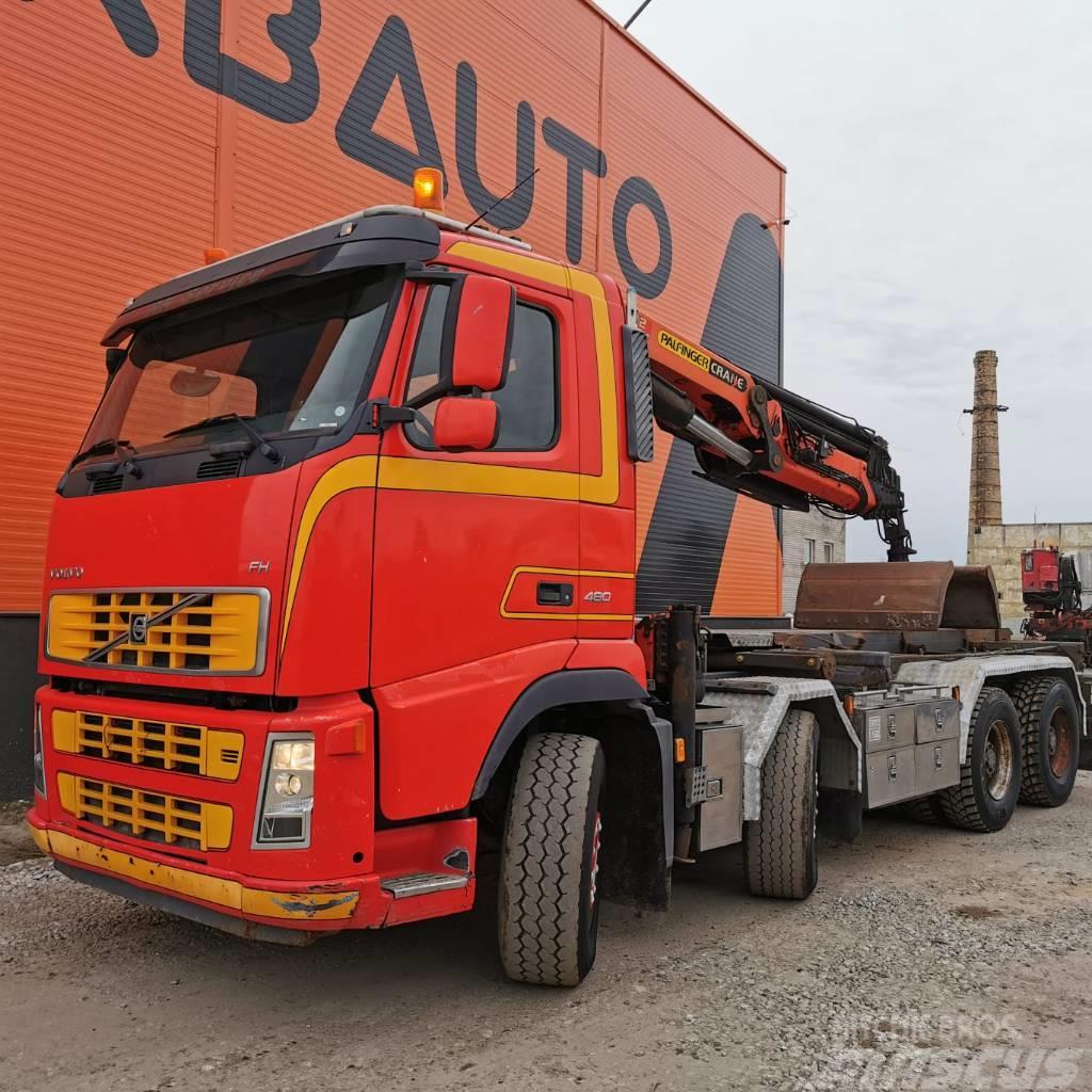 Volvo FH 13 480 8x4 Palfinger PK 27002 boom 16,7m