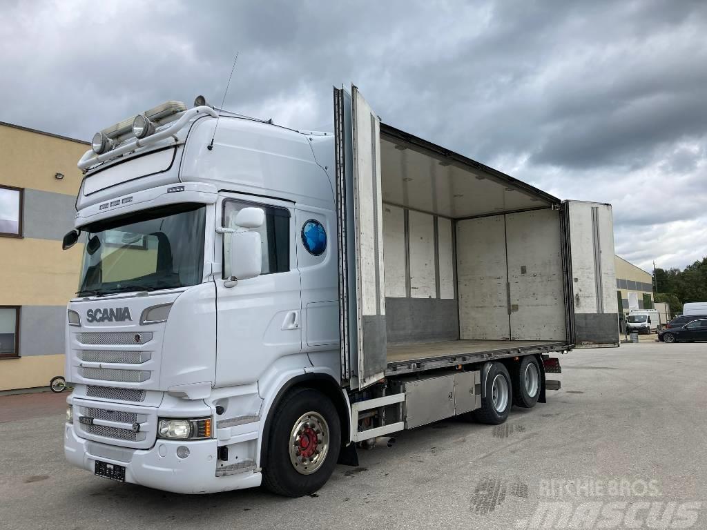 Scania R620 6x2 Euro 5 + BOX HEATING + RETARDER + FULL AI