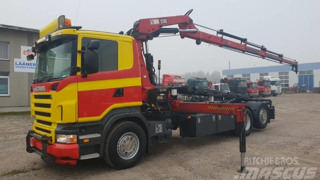 Scania R420 6X2*4
