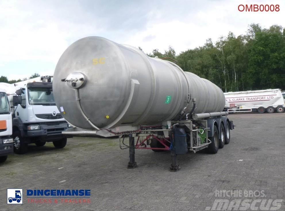 ETA Vacuum tank inox 26 m3 + engine/pump