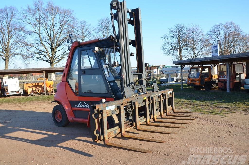 Linde H70 D - 4-fach Klammer Linde Service