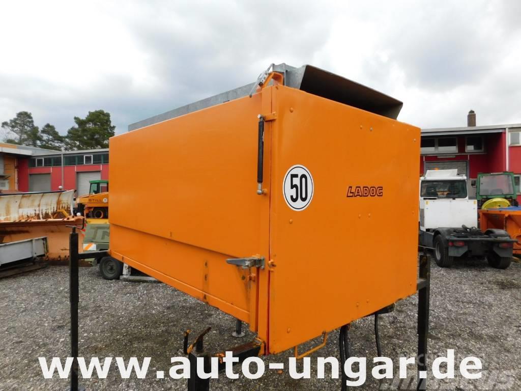 Ladog LGSC 028 Laubcontainer Mähcontainer Multicar Hansa