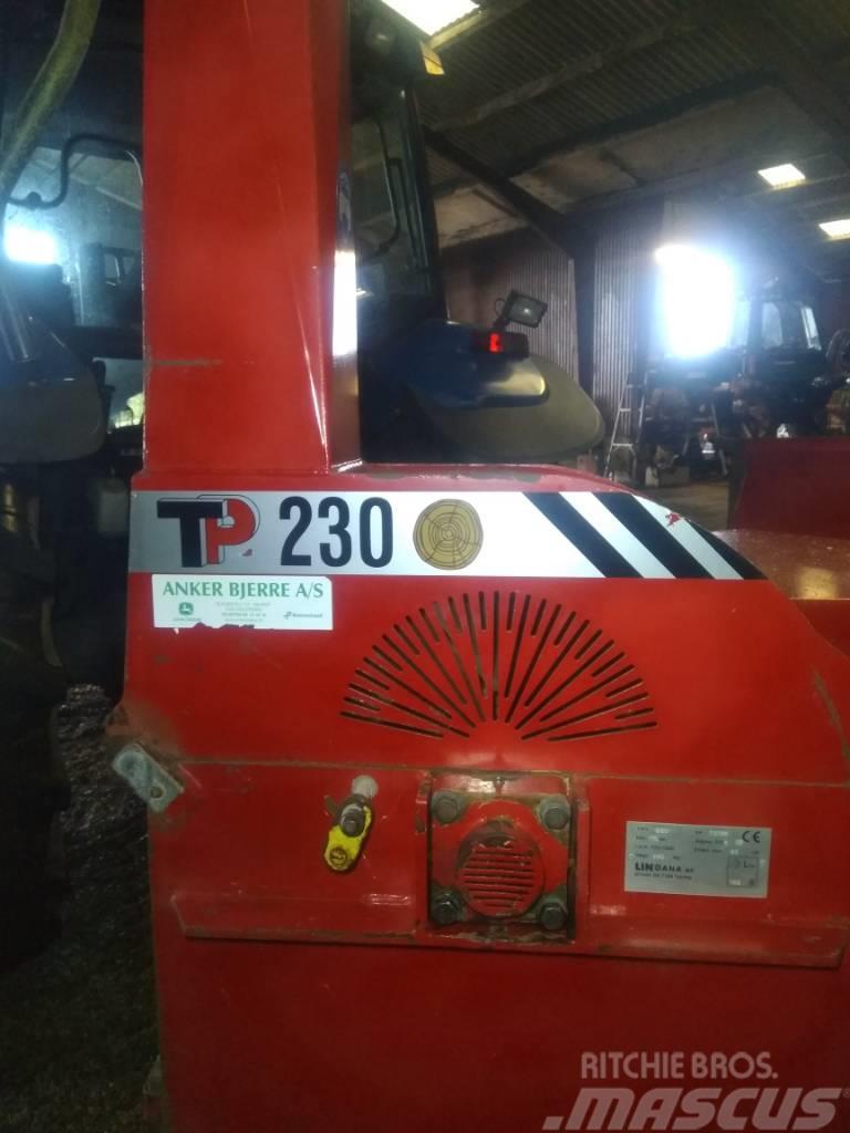 TP 230 Omdrejningsvagt. 230mm stammer
