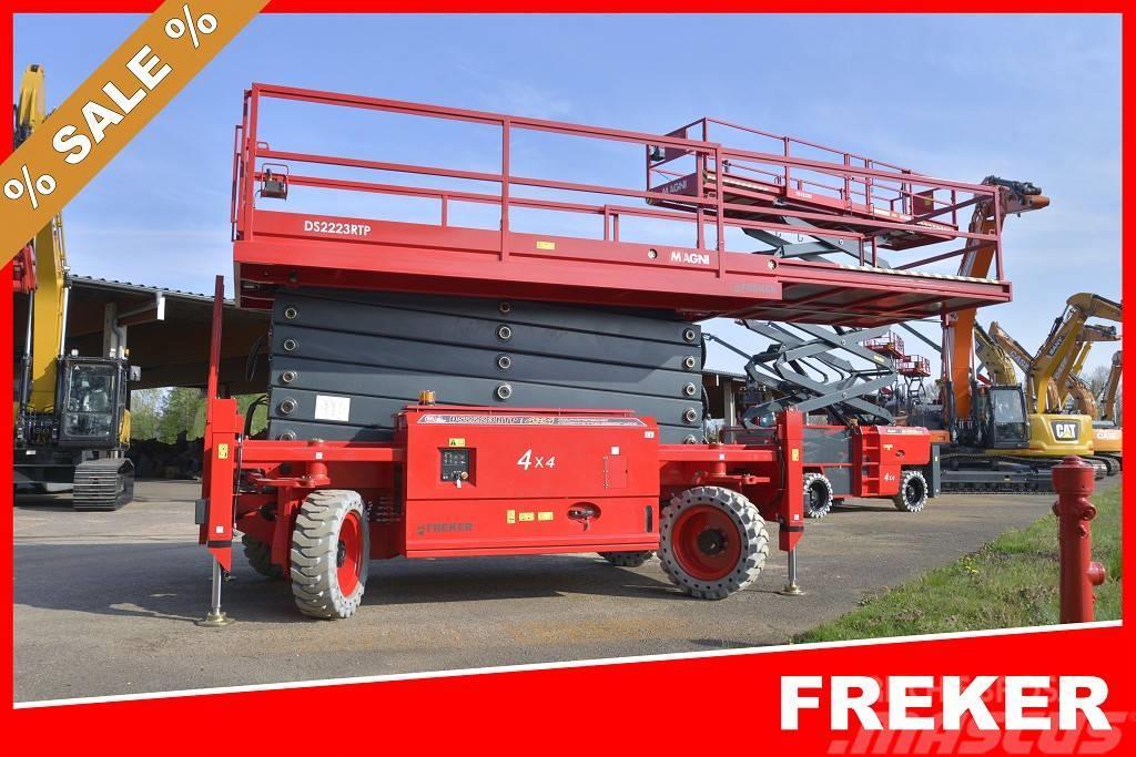 Magni DS2223 RTP .. 22m .. 4x4 Allrad .. 750kg Korblast