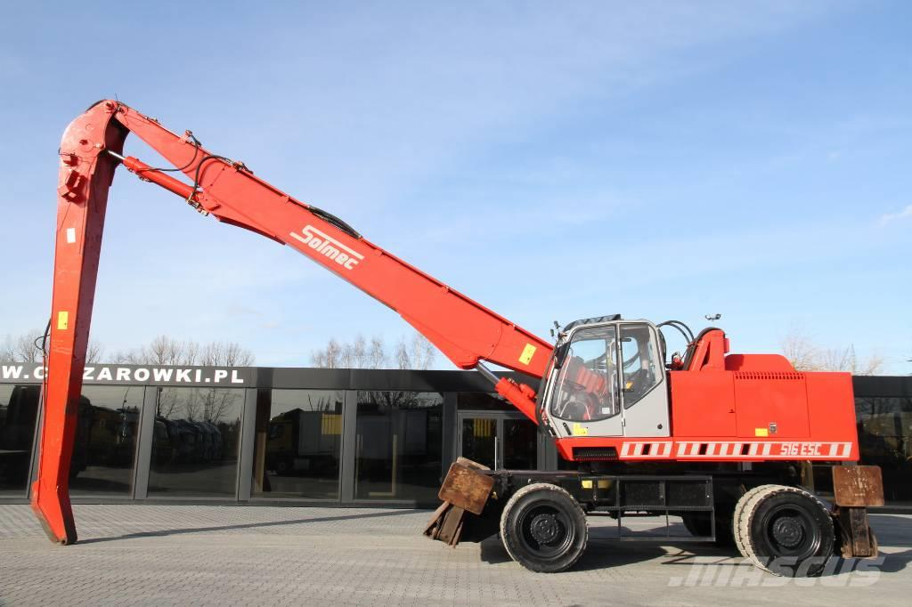 Liebherr 516 ESC / material handler / max lift 17m / 18t