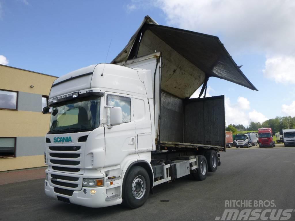 Scania R 480 6x2+47m3 2-Way Tipper