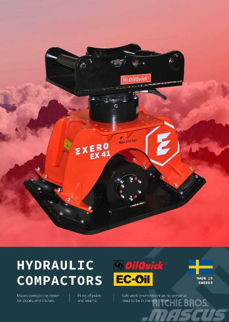 Exero Compactor Oilquick/EC-oil Exero EX41 OQ
