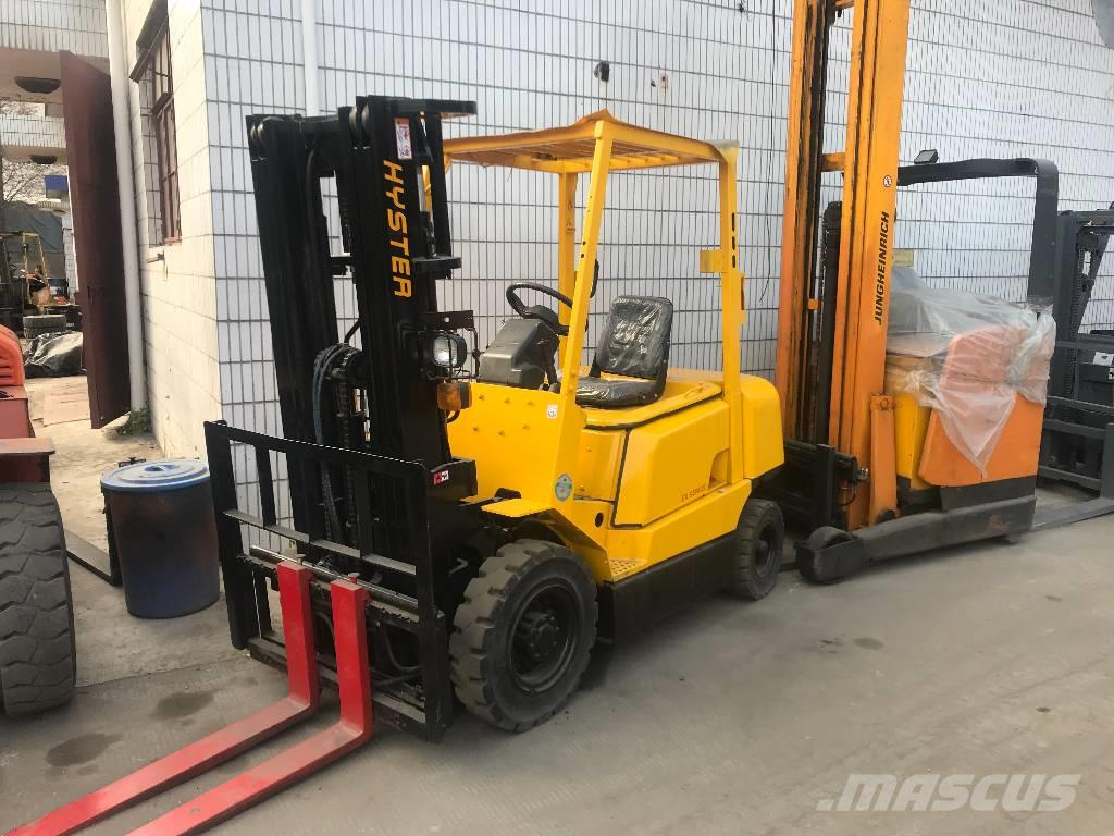 Used Hyster H 2 50 DX diesel Forklifts Year: 2002 for sale