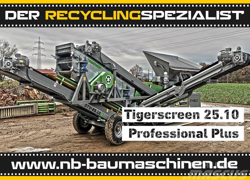 [Other] Flachdecksiebanlage Tigerscreen 25.10 Profi-Plus