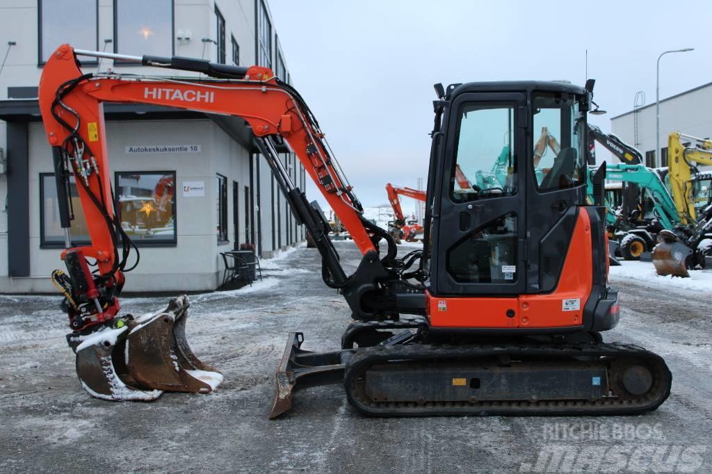 Hitachi ZX55U-5 PROBOPYÖRITTÄJÄ