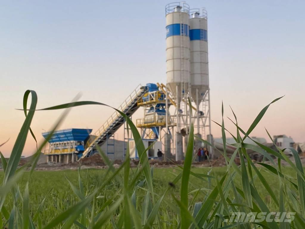 Promax-Star STATIONARY CONCRETE PLANT S130-TWN(130M3/H)