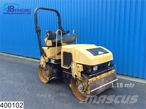 Caterpillar CB 224 E 22.5 KW, Vibration system Roller