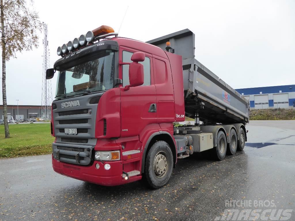 Scania R480 8x4*4   Tipp o Plog  625 000:-