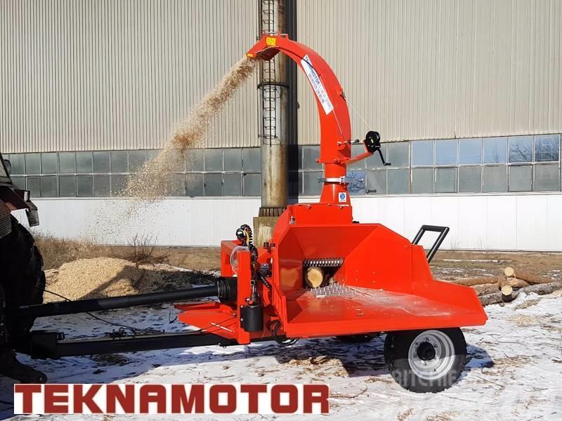 Teknamotor Skorpion 250 RG/90 houtversnipperaar