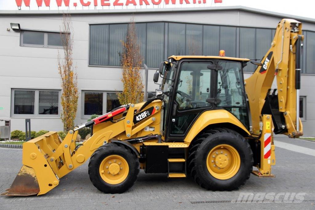 Caterpillar BACKHOE LOADER CAT 428F2 TURBO POWERSHIFT 2000 MTH