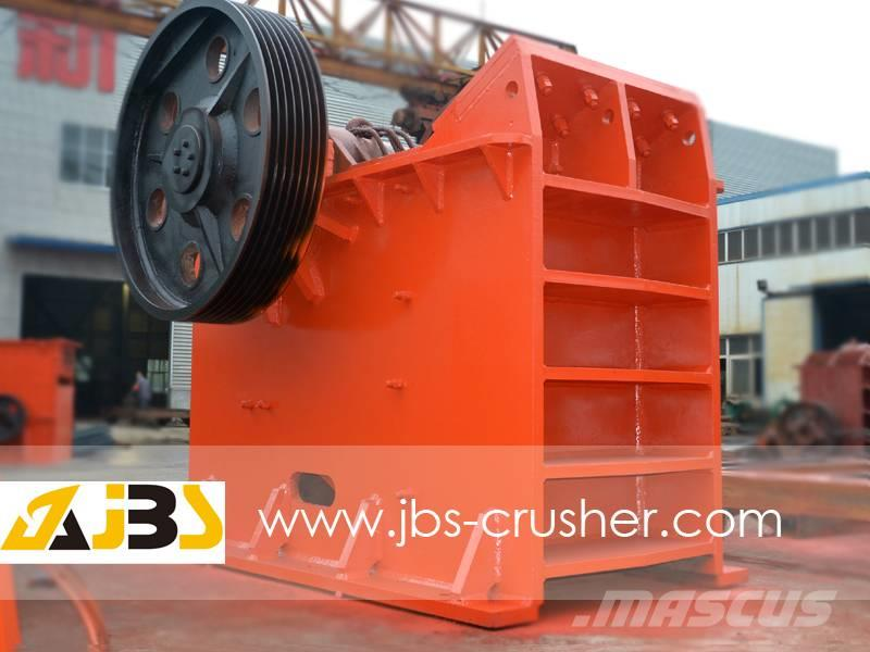 JBS 500TPH big crushing and sieveing hard rock plant