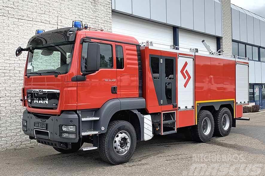 MAN TGS 33.400 BB-WW FIRE FIGHTING TRUCK
