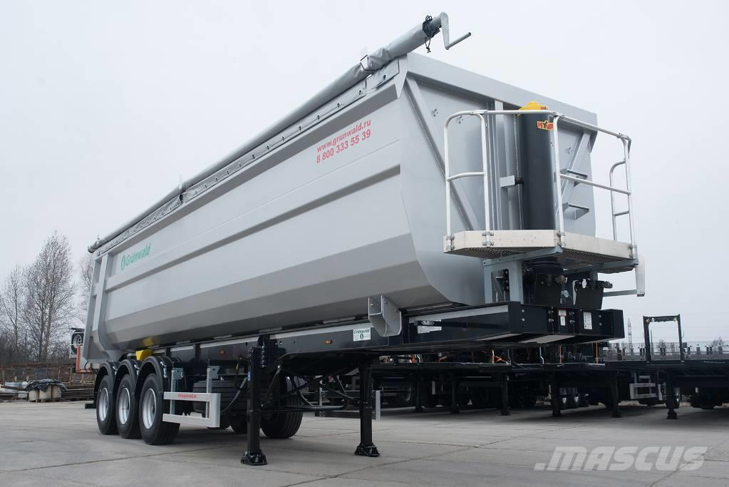 Grunwald Tipper semitrailer 50 cbm
