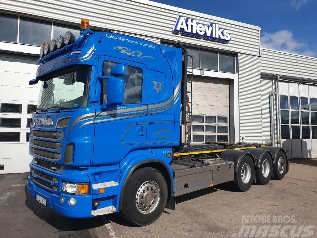 Scania R730 LB8X4*4 HNB - LASTVÄXLARE NYBES