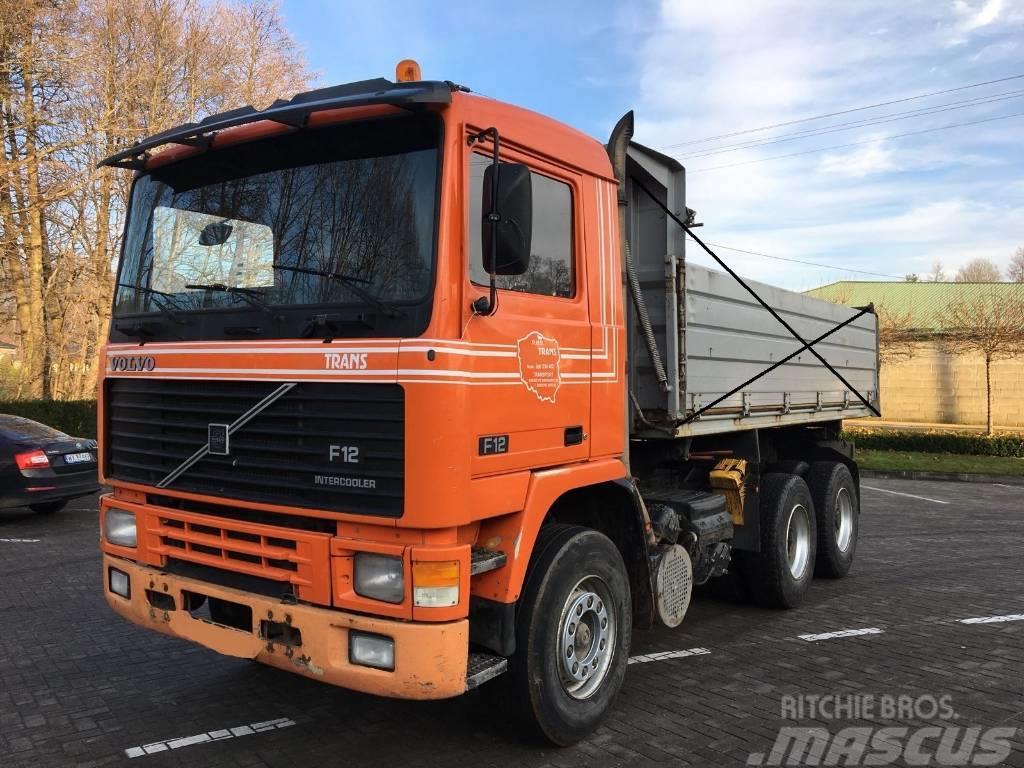 Volvo F12 360 6x4 full spring