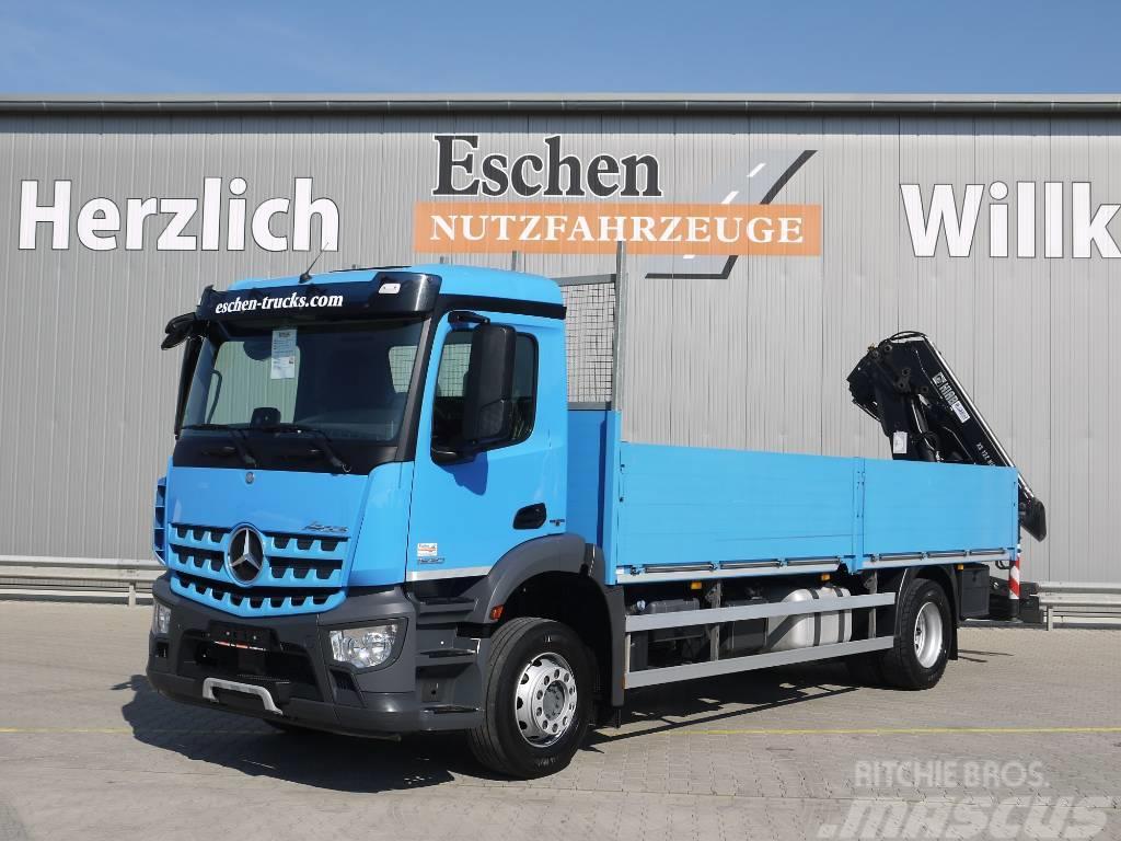 Mercedes-Benz Arocs 1830L, 4x2, Hiab 122 E 2 Hiduo Kran