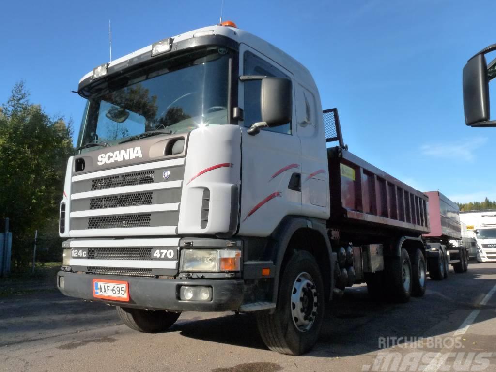 Scania R 124 C 470 6x4