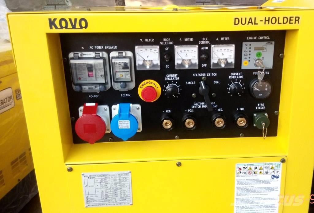 Kovo engine driven welder EW400DST