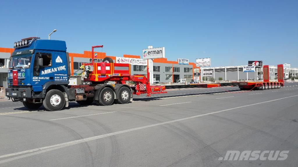 Lider Extendable 6 axle lowbed semi trailer