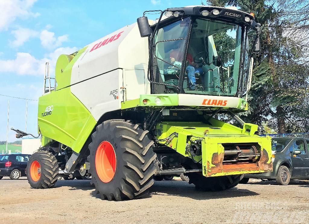 CLAAS TUCANO 430 APS 4X4 - 5,4 M - 2009 ROK