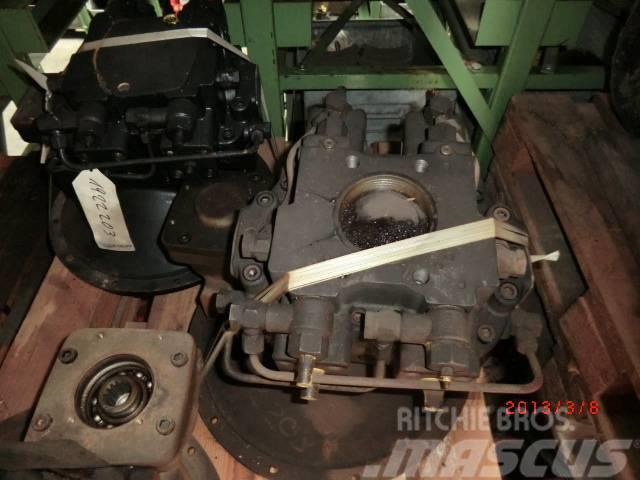 Rexroth A8VO80 LR3CH, Hydraulics