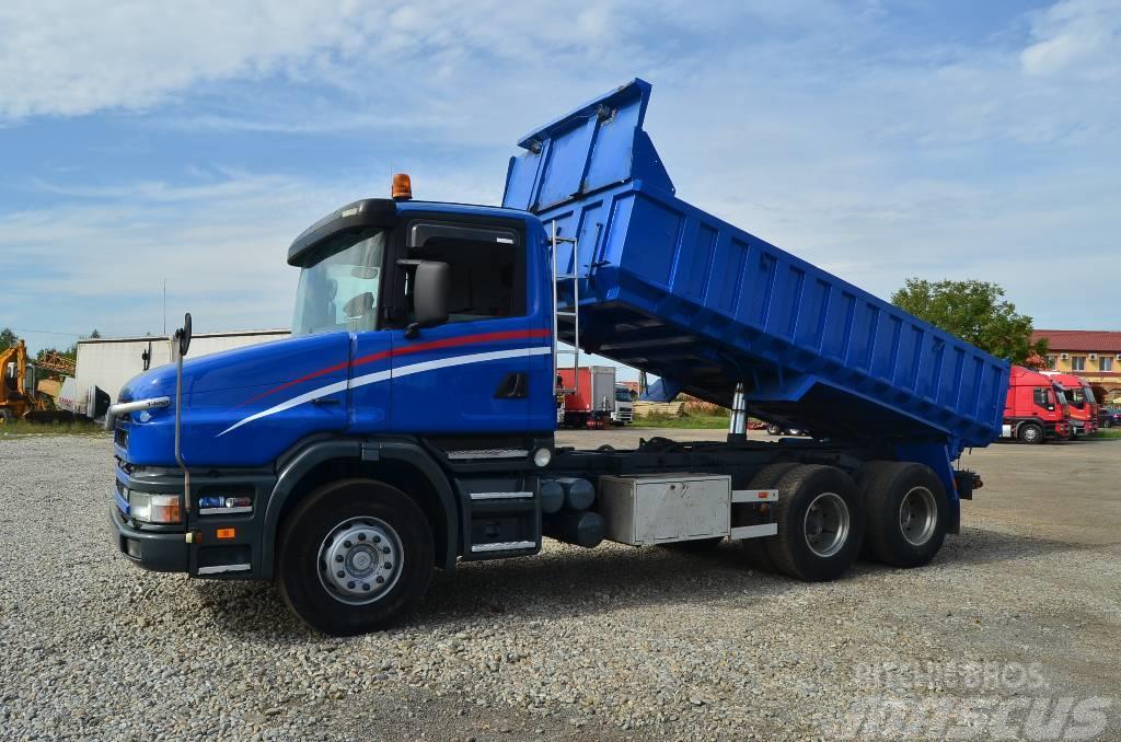 Scania T124G 6x2