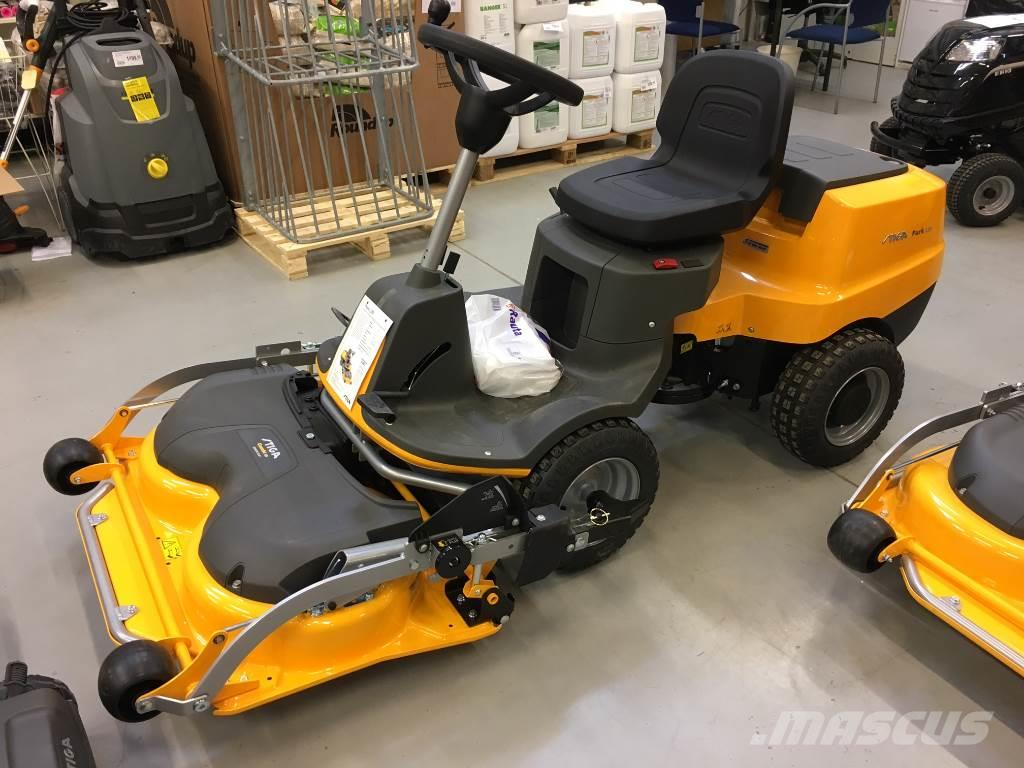 used stiga park 120 riding mowers year 2017 price 2 433 for sale mascus usa